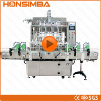 200ml-20000ml PVC bottle diesel fuel middle distillate diesel oil filling machine