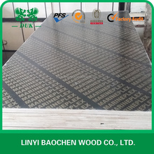 17.2mm Finger joint core film faced plywood to UAE market