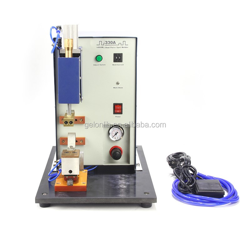 Single Point Pneumatic Welding Machine for Cylinder Cell Assembling GN-330A