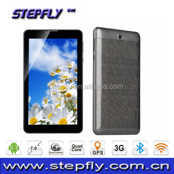 SF-V7--7 inch capacitive touch screen MTK8321 Quad core Android 5.1 WIFI GPS 3G tablet pc