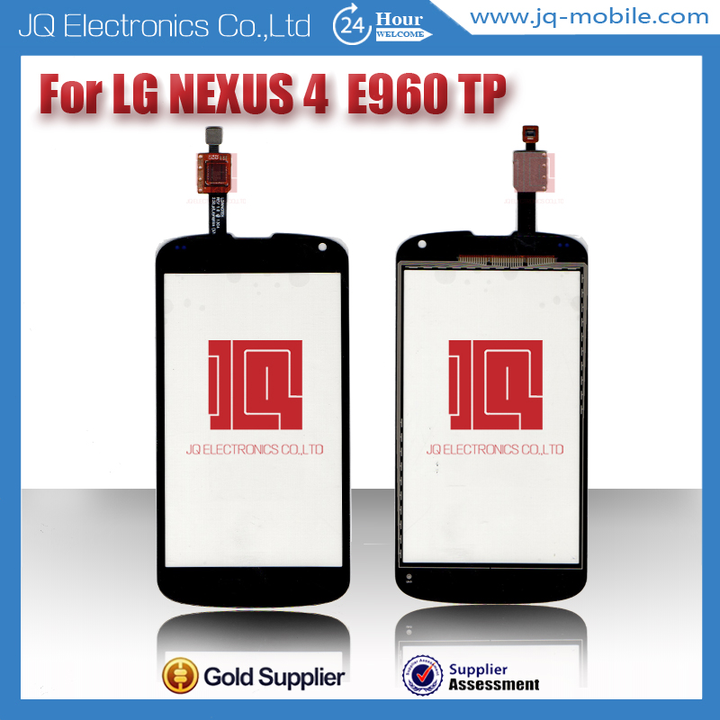 Accessories parts touch screen front glass replacement for LG e960 google nexus 4