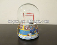 hockey snow globe