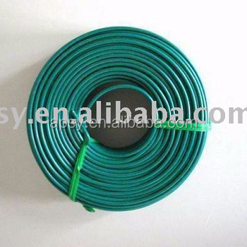 colored wire pvc coated wire