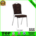 competitive price wholes high quality aluminium used stackable banquet chairs CY-3381