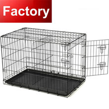 2017 factory direct sales metal wire dog cage dog crate