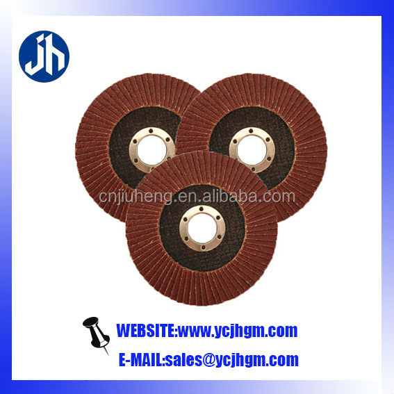 nylon flap wheel high quality for metal/wood/stone/glass/furniture/stainless steel