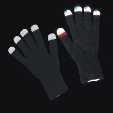 1Pc Pack Magic LED Black Glove