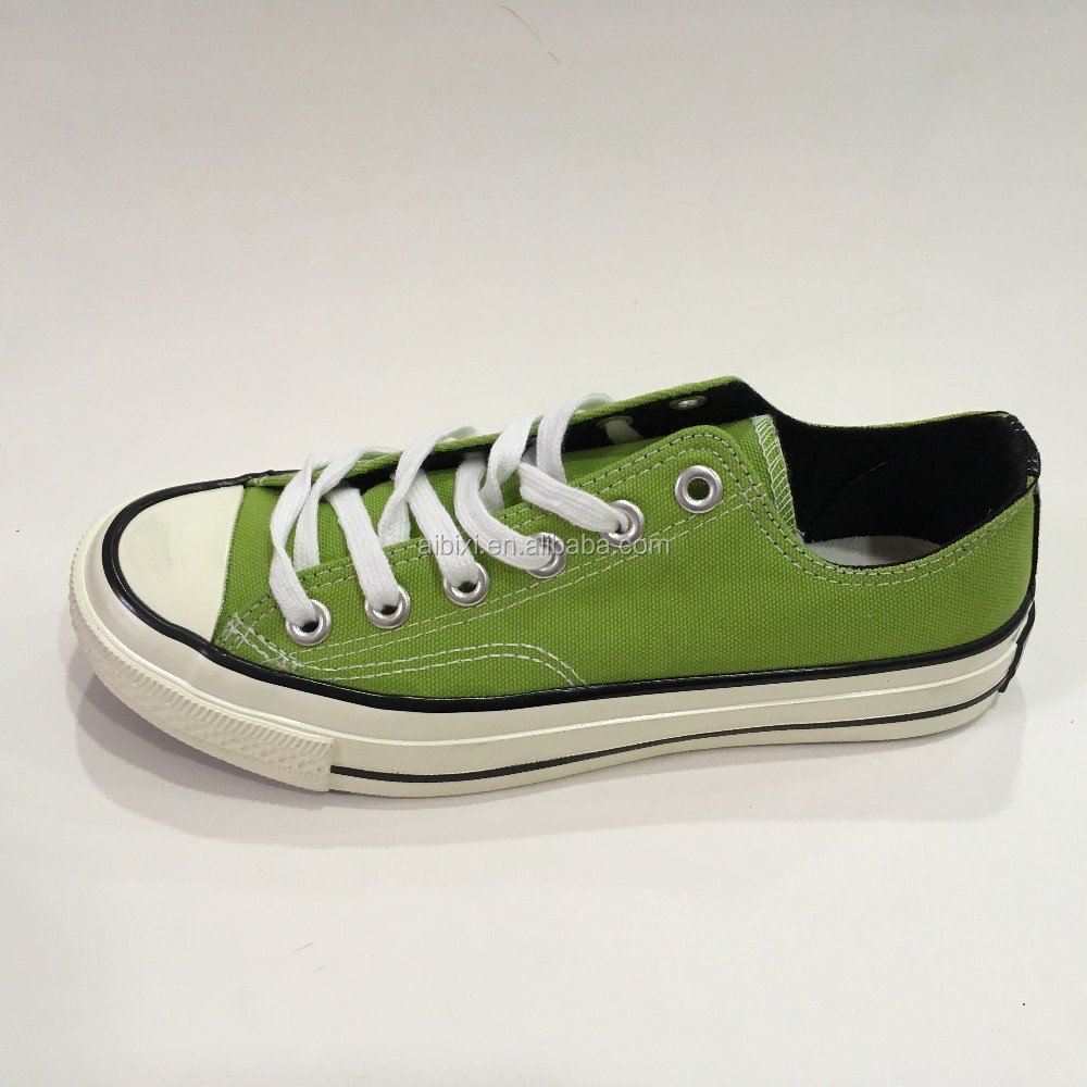 Supermarket Supplier OEM Factory Cheap Vulcanized Canvas All Star Shoes