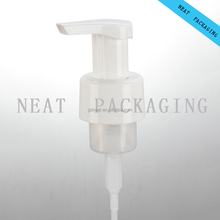 Outside Spring Pressing Fodm Pumb 28mm 30mm 40mm 42mm plastic cosmetic foaming pump