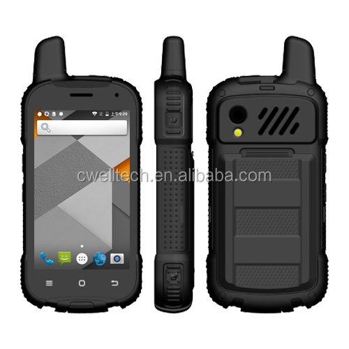 UNIWA F100 4 inch IPS Screen SOS Panic Button Zello <strong>Android</strong> PTT walkie talkie <strong>phone</strong>