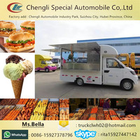 Fast Food Selling Truck, Diesel Engine/Petrol Engine Selling Food Truck