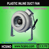 Plastic dust extraction fan industrial fan