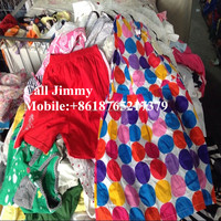 Guangzhou warehouse hot summer used clothings
