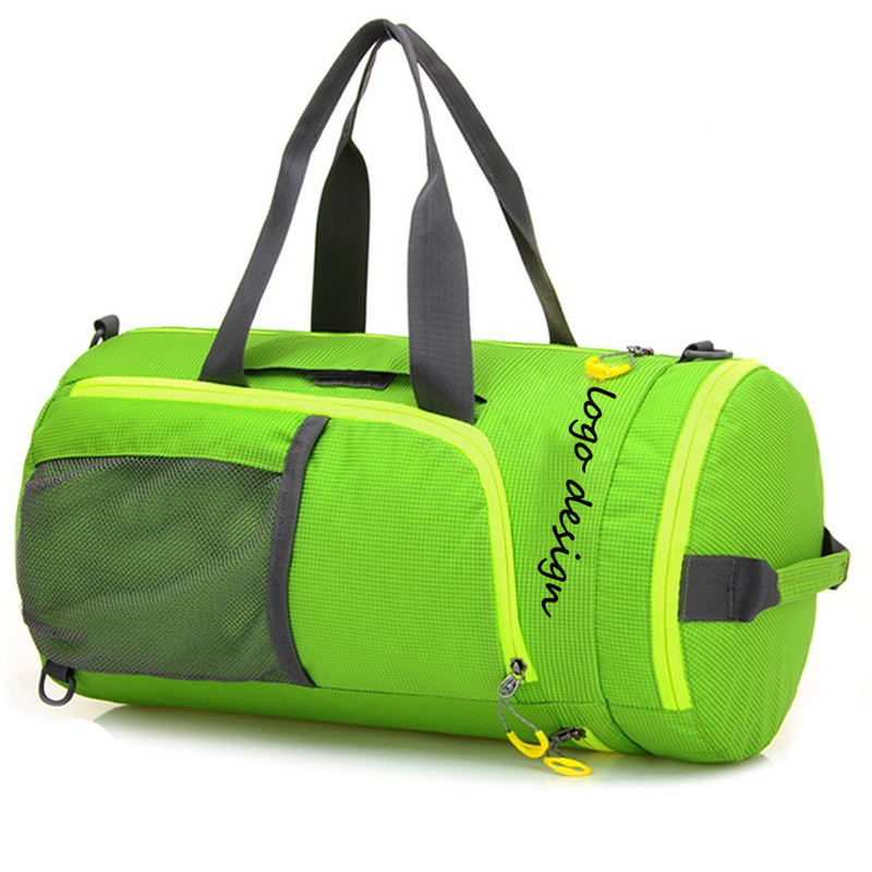 Custom 3 In 1 Foldable Heavy Duty Travel Sports Duffle Bag