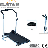 GS-2003 New Design Indoor Magnetic Fitness Manual Treadmill for Home Use