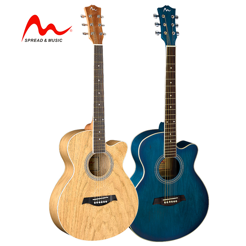 Hot China factory all catalpa acoustic guitar with high quality