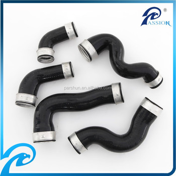 Spare Parts Silicone Intercooler Turbo Hose Kit for VW