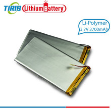 Customized Available Lithium Polymer 3.7v RC Helicopter Battery With 3.7volt 3700mah