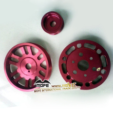 High Performance Light Weiht racing crank pulleys for EVO 1/2/3
