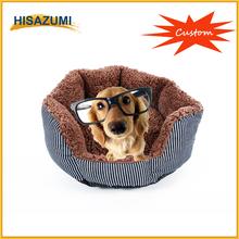 Hisazumi Lovely plush memory foam sponge animal shaped pet bed dog bed