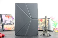 for ipad air smart cover case Transformers multi-standing function leather case for ipad 5