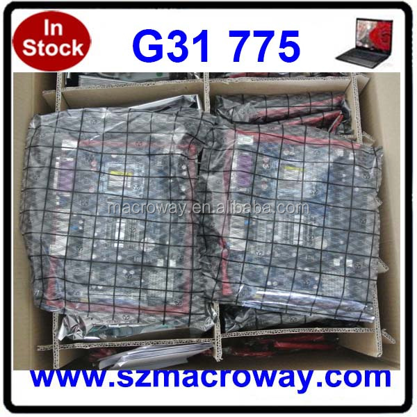 cheapest desktop g31 socket intel 775 ddr2 motherboard