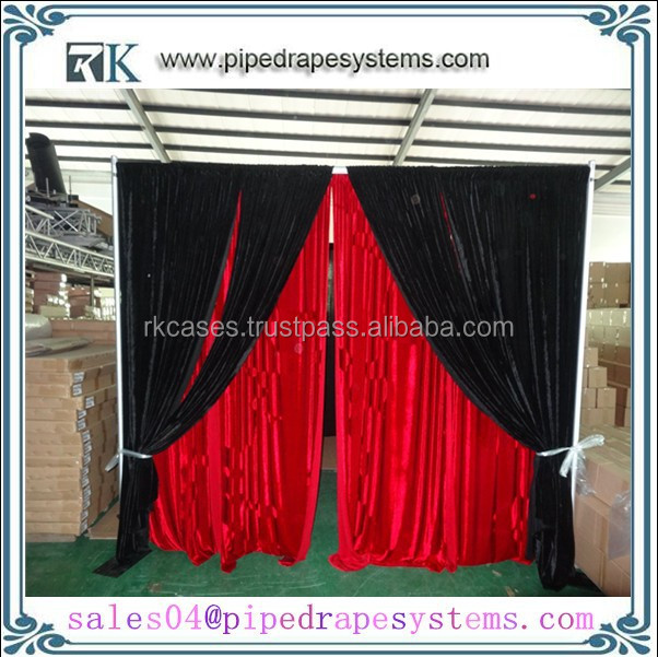 RK wholesale pipe and drape portable used photo booth for sale