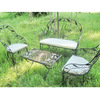 Metal Outdoor Furniture Sofa Garden Set