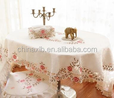 Continental oval tables tablecloths / table cloth oval / oval tablecloth fabric