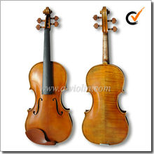 Hand made 4/4 Master Violin, Antique style Conservatory Violin (VHH1200)