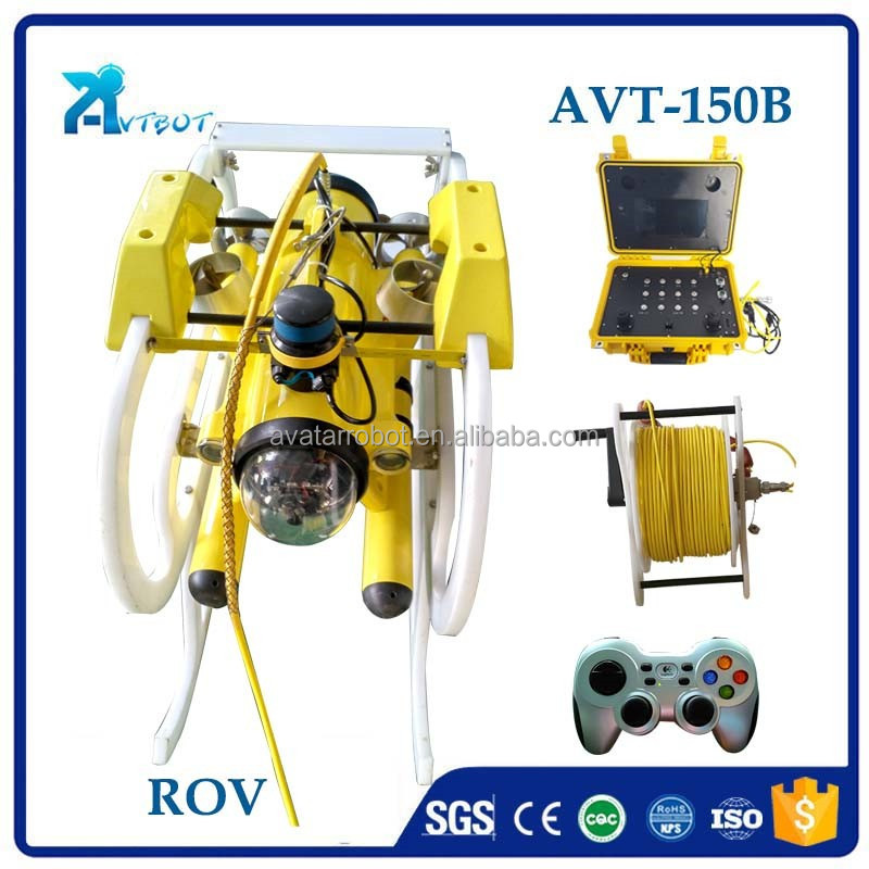 Underwater ROV camera supplier, remote control underwater vehicle camera system