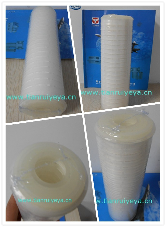 PP pleated water cartridge filter made in China