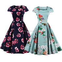 bestdress Womens Vintage Style 1950s Retro Rockabilly Swing Pinup Bridesmaid Party Dresses