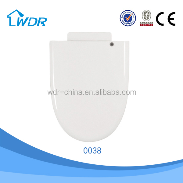 PP wholesale quality slowly down white plastic toilet lid cover