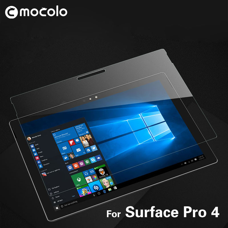 Hot Sale 12.9Inch Computer Laptop Screen Protector Tempered Glass Film For Microsoft Surface Pro 4 Tablet Pc