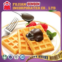 delicious and soft different flavors Belgian egg waffle