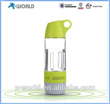 Outdoor sports 2 in 1 Bottle Bluetooth Speaker waterproof music