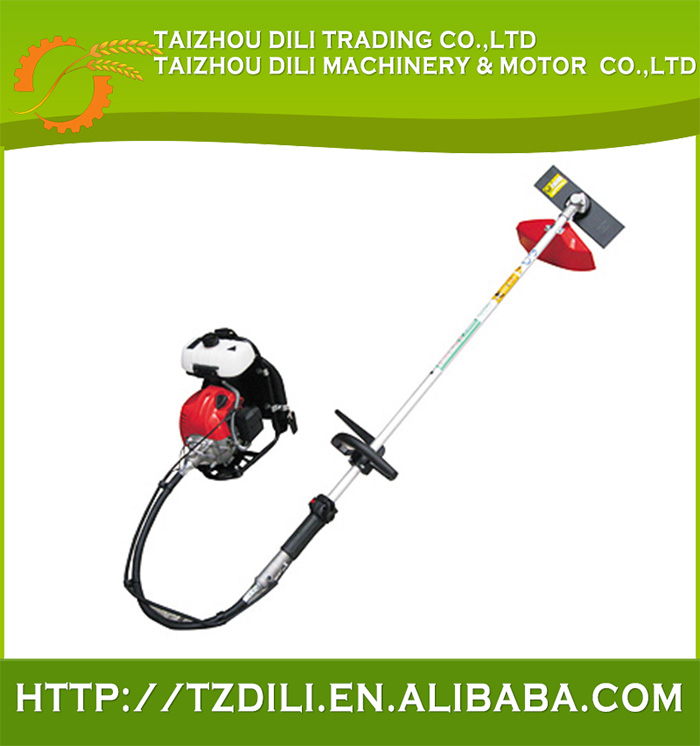 High-end 2stroke electric starter gasoline wheat and rice brush cutter