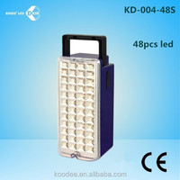New rechargeable 48 LED Emergency Light with 6V4.5AH battery