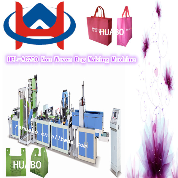 Modern Hot Sale New Fashion PP totes paper shopping bags making machine