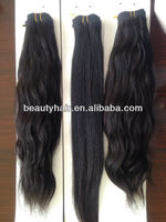 "2015 wholesale new popular virgin remy human hair goods 16"" 100% virgin brazilian hair straight"