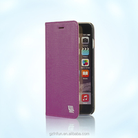 For iphone 6 plus embossed pattern case with stand-Vinous