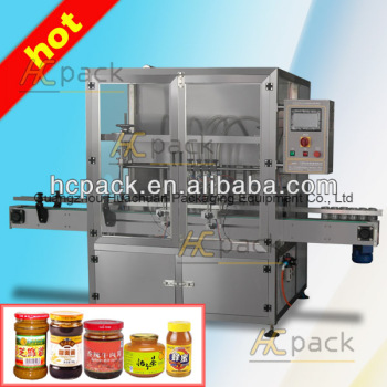 Six heads automatic sauce syringe filling machine