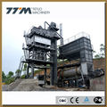 80t/h stationary asphalt mixing equipment, bitumen mixing plant
