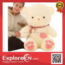 Promotional plush toy embroidery