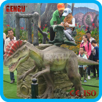 New dinosaur toys for 2016 (Animatronic dinosaur ride)