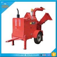 Best price mobile type biomass sawdust making crusher /rice mill for sale