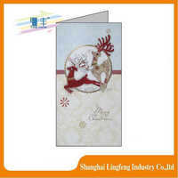 Customized Paper Material birthday card Greeting Card