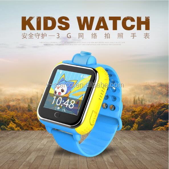 child watch phone manufacture A3 sos geo fence gps tracker watch with gsm sim slot