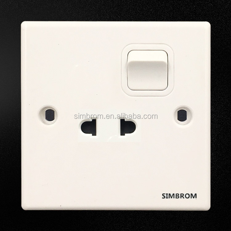 Hit clicking promotional factory price electrical Wall Switched Sockets